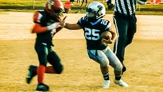 Welcome All Panthers 9U Black vs Jonesboro Falcons Youth Football Highlights