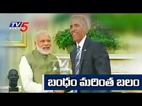 Modi In US | PM Modi Meets Obama | Obama Supports India's NSG Membership | TV5 News