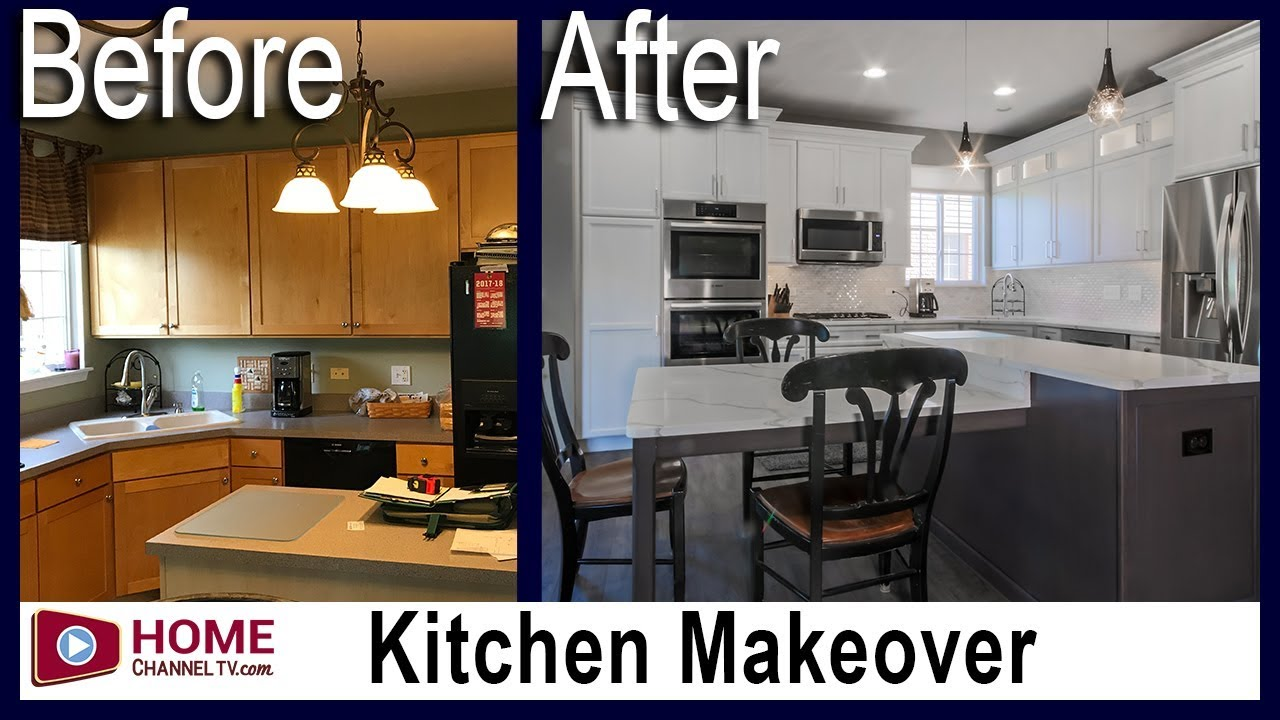 Before and After Kitchen Remodel - Kitchen Design Ideas | Home Channel TV