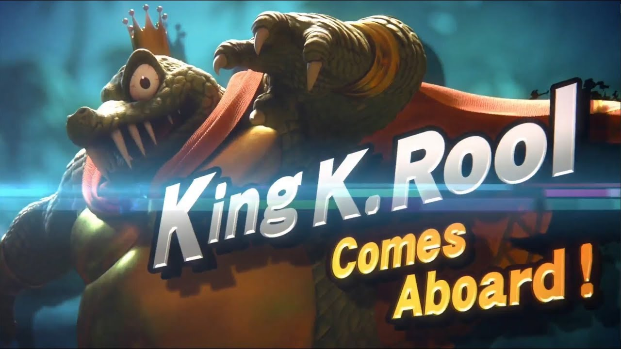 Image result for king k rool smash bros gif