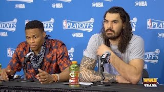Download Things Get Heated Between Russell Westbrook & Reporter Mp3 and Videos