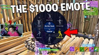 Ill give you $1000 if you GUESS THE EMOTE.. (Fortnite Challenge) thumbnail