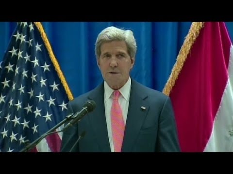 Kerry: Moment of 'great urgency' for Iraq