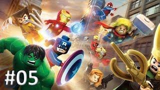LEGO MARVEL - Super Heroes #05  Capitão América / Homem de ferro  | PT-BR |