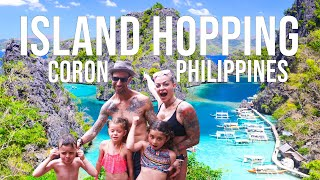 Best Island Hopping in Coron, Palawan Philippines (Family Travel Vlog 2019)