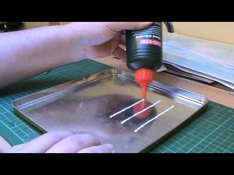 Wordsworth Model Railway 109 – Making Static Grass Tufts & Strips.