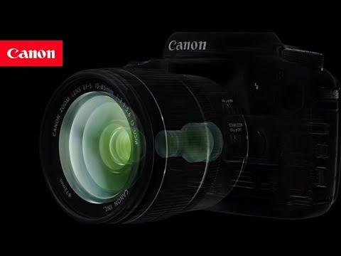 Lentes Canon, construidos con lo último en tecnología