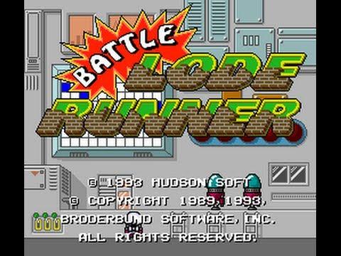 Prolist (S09,G01) - Battle Lode Runner (Turbografx16) Pt.1