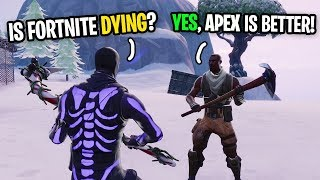 Is Fortnite DYING (I Asked Random People To Find Out...)