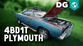4BD1T 3.9 Diesel swapped '70 Plymouth Satellite