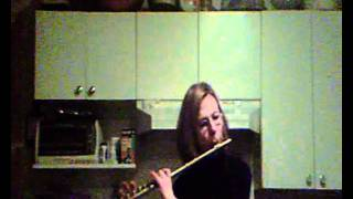 Armstrong silver sterling flute demo