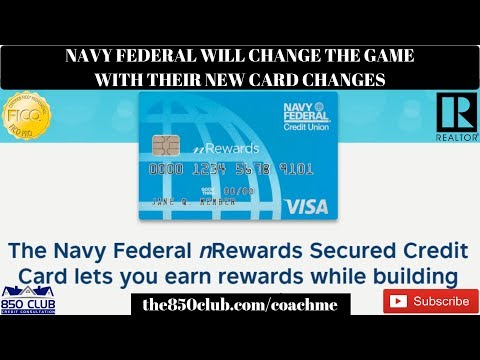 Navy Federal Just Dropped A Secured Card Game Changer - Credit Monitoring Services,myFICO,Rewards