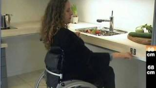 Accessible Kitchen Kitframe Flexi