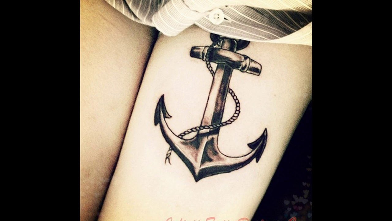 Anclas Tatuajes Para Mujeres Youtube