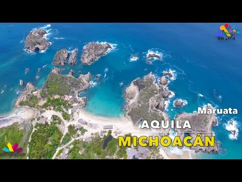 Playas Aquila Michoacán Promocional Turistico    Visit Mexico   DJI