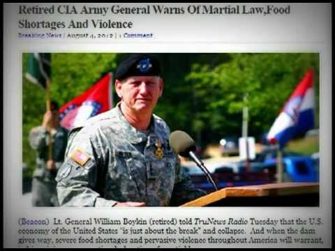 Lt. General William Boykin (retired) - Martial Law