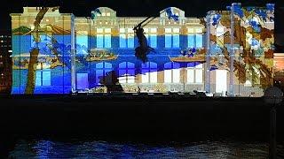 壇ノ浦・巌流島…関門海峡の歴史、光と音で浮かび上がる