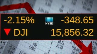 Why is the stock market dropping today?