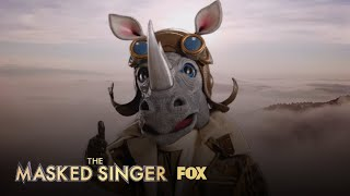 The Clues: Rhino | Season 3 Ep. 8 | THE MASKED SINGER