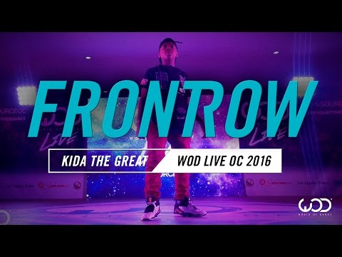 Kida the Great   FrontRow   World of Dance Live OC 2016   #WODLiveOC16
