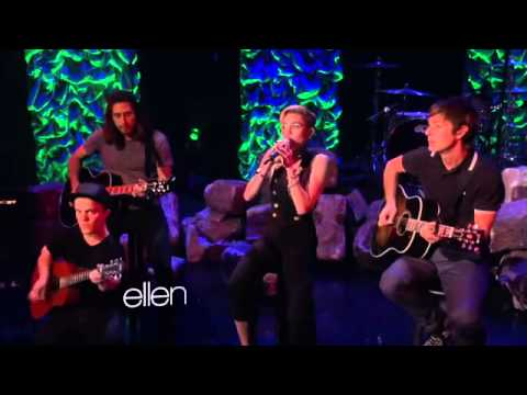 Miley Cyrus We Can't Stop live on ellen