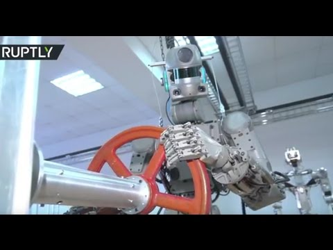 Cyber cosmonaut or rescue robot? Russian android Fedor passes various tests
