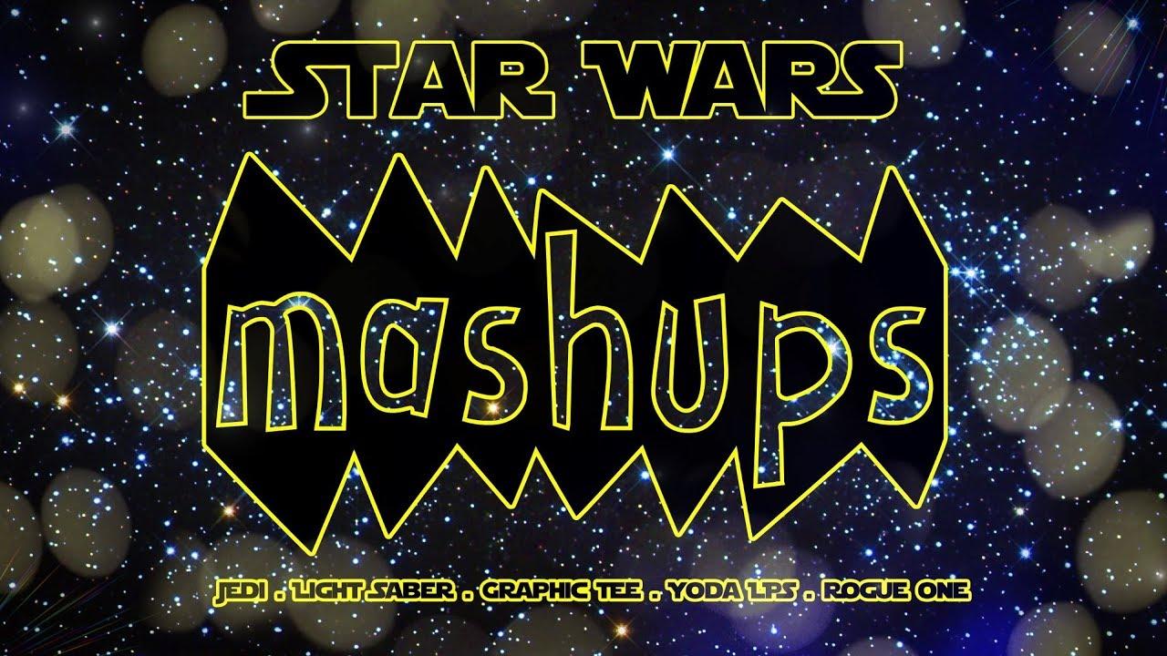 Mash Ups: STAR WARS - Jedi | Light Saber | Yoda LPS | Star Wars Room & more