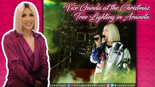 Vice Ganda at the Christmas Tree Lighting in Araneta