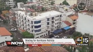 Mexican coast bracing for Hurricane Patricia