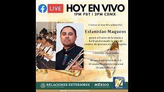 Conversación con el Maestro de Musica, Estanislao Maqueos  