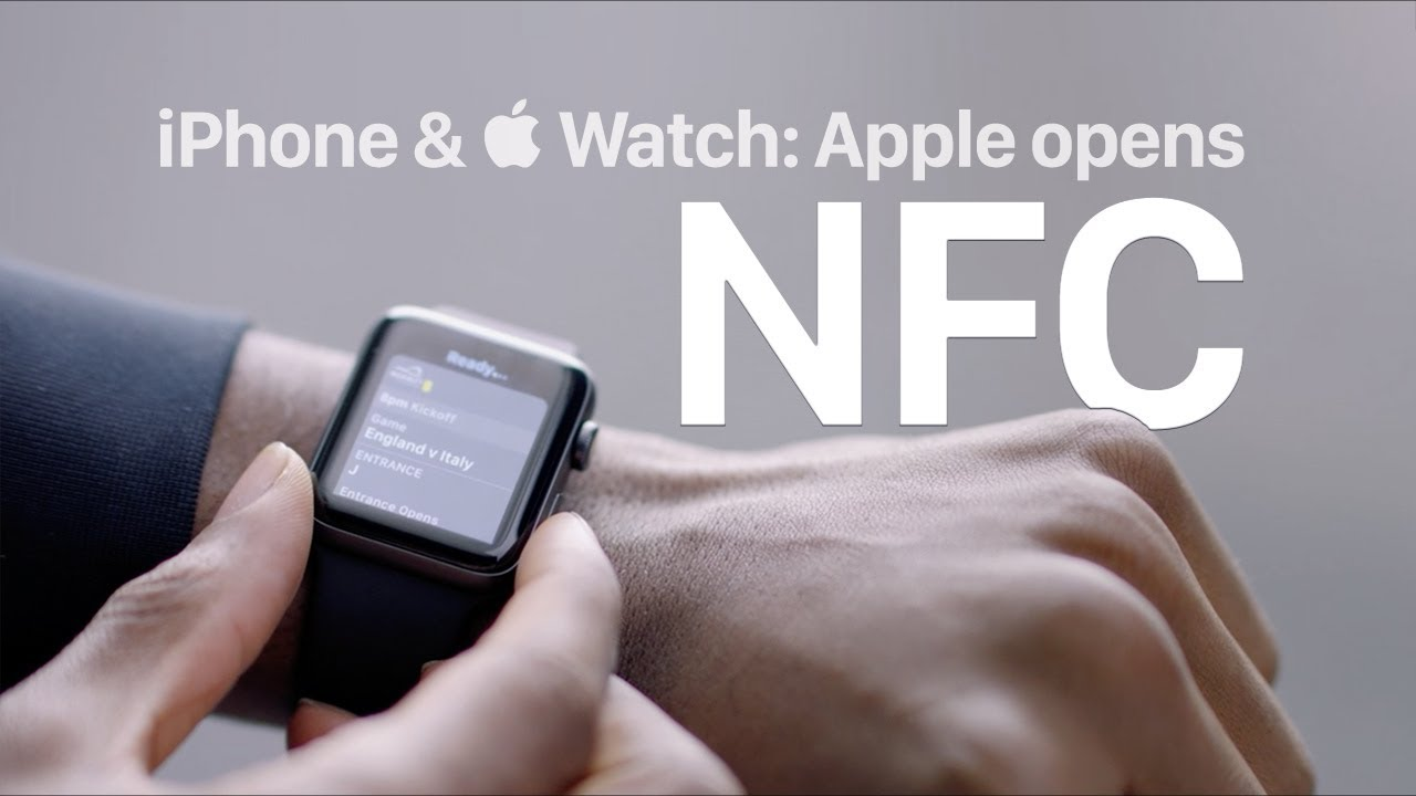 Apple opens NFC: iPhone and Apple Watch as contactless cards