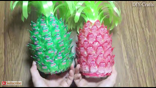 Tutorial Pineapple Candy || DIY- Crafts.