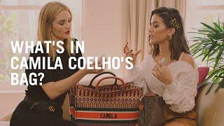 Rosie Huntington-Whiteley looks inside Camila Coelho's makeup bag