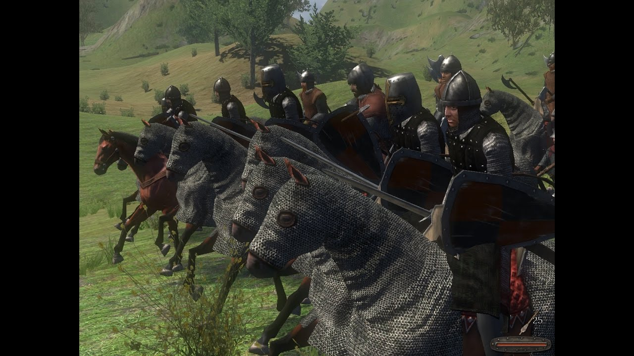 تحميل لعبة mount and blade