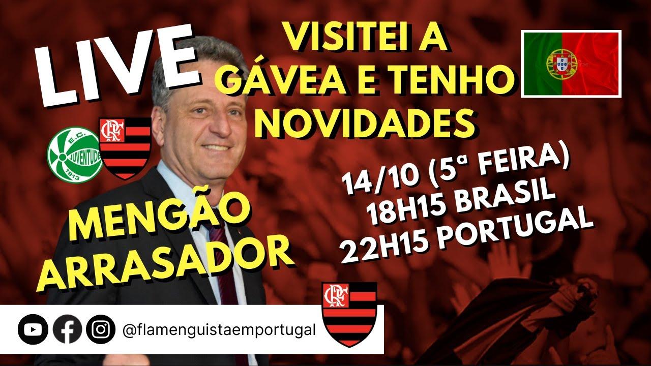 LIVE SOBRE MINHA VISITA À GÁVEA E AS NOVIDADES QUE TRAGO DE LÁ   MENGÃO ARRASADOR