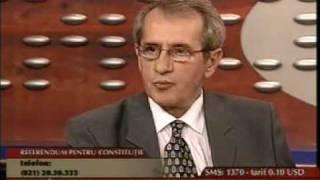 8.10.2003 - Despre referendumul pentru modificarea Constitutiei