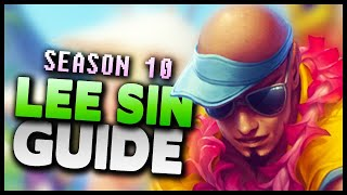 How to play Lee Sin jungle in Season 10! - League of Legends Gameplay