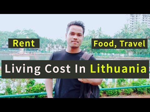 Cost Of Living In Lithuania | Rent, Food &Travelling Cost | Indian Students