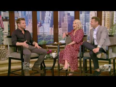 Ryan Phillippe Complete Interview on Live with Kelly and Ryan 2017
