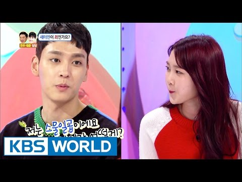 Taejoon asks Jiho out for a movie [Hello Counselor / 2017.04.17] from YouTube · Duration:  15 minutes 28 seconds