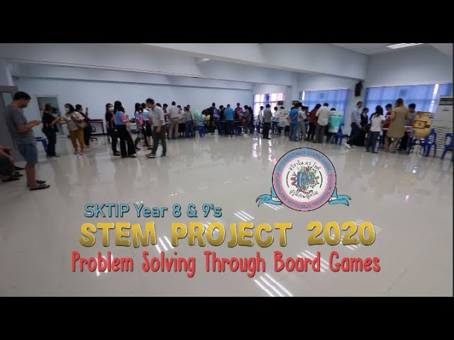 Year 8 & 9's STEM Project Presentation