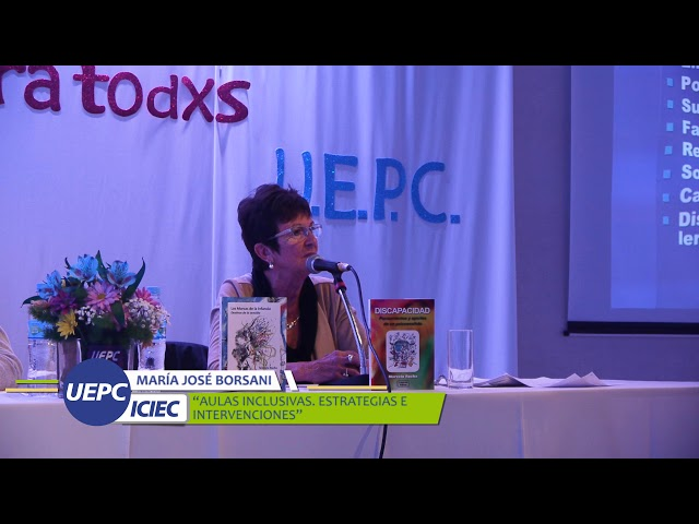 María José Borsani: Aulas inclusivas: estrategias e intervenciones.