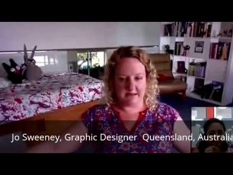 Creative Entrepreneur Interview Series: Guest: Jo Sweeney, Australia