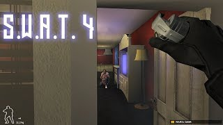 """S.W.A.T. Diaries #5 """"World's Dumbest Criminals"""" - SWAT4 Road to 1k!"""