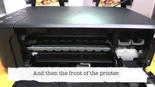 Canon MG2250 - Changing the cartridges