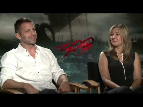 300: Rise of an Empire (2014) Exclusive Zack & Deborah Snyder Interview [HD]