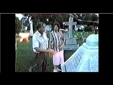 Pillar of fire at William Branham Grave Side