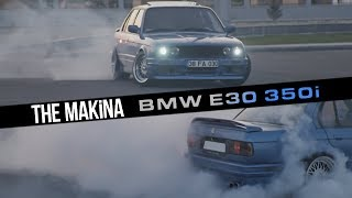 THE MAKİNA | BMW E30 S62B50 M5 V8 SWAP 'Estoril Blue' 400HP
