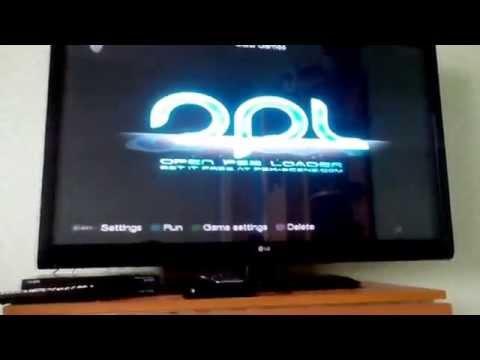 Видео-туториал: Как запускать игры на PS2 с USB флешки