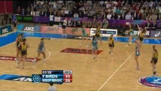 anz netball 2010 final thunderbirds vs magic qtr 3 part 2
